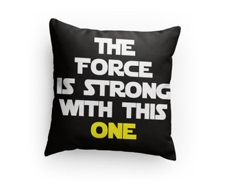 Star Wars Inspired Pillow - Great Gift for Any Star Wars Fan! Perfect Pillow Fight Pillow! Valentine's Day Gift Idea!