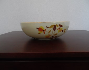 "Autumn Leaf China 9"" 2 Quart Salad Bowl"
