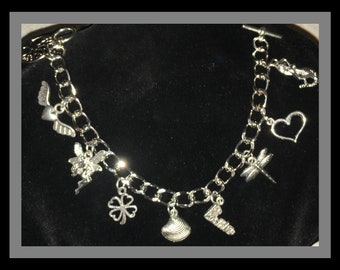 Enchanted Luck and Positive Energy Charm Bracelet, Crafted with Positive Energy and Hope!