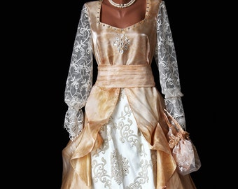 Victorian Wedding dress/dreamy wedding dress/OOAK/engagement dress / bridal/ barok style