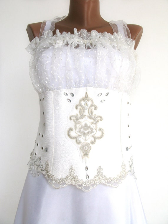 Leather Steampunk Wedding Dress It S Really Unique Etsy