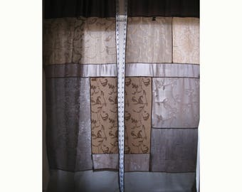 Patchwork gothic curtains/Background curtains/boho curtains/Gothic curtain