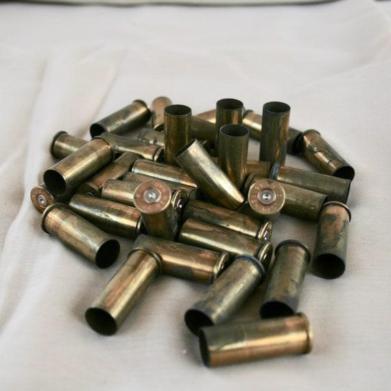 44 Remington Brass Bullet Casings, Empty Once Fired 44 Shells, Brass  Cartridges
