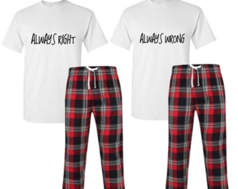 9539bc8505 Always Right Always Wrong Pyjamas