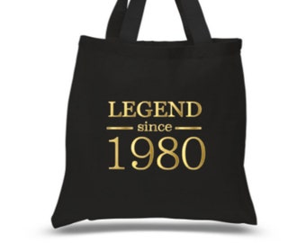 40th Birthday Looking Good Gift Women's Ladies Shopping Bag Present Tote Idea