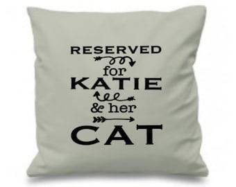 Custom cat pillow | Etsy
