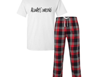 Always Wrong Pyjamas 869b1ac23