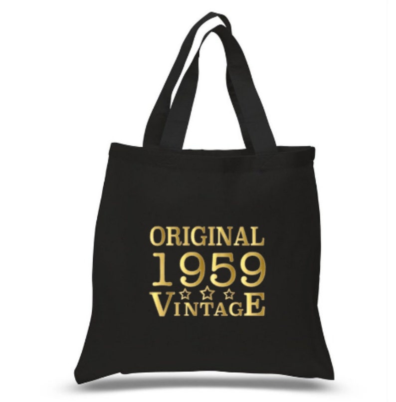 60th Birthday Gift Bag Idea