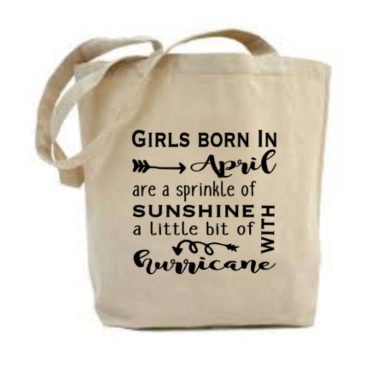 April Birthday Gift Bag Idea Ladies