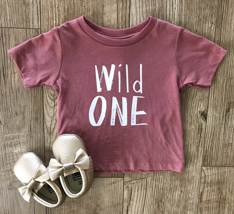 Wild ONE Unisex Shirt O One Year Old Birthday 1st First Outfit 12 Month Things Party