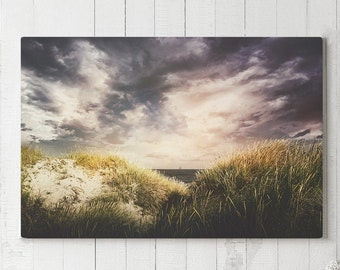 Beach Canvas Art, large bedroom wall art, living room and office nature wall decor, summer home decor