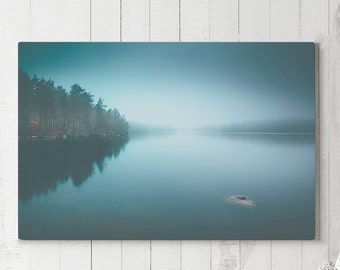 Tranquil Landscape Canvas Art, peaceful wall decor, modern nature canvas art, large ready to hang art, photo canvas print