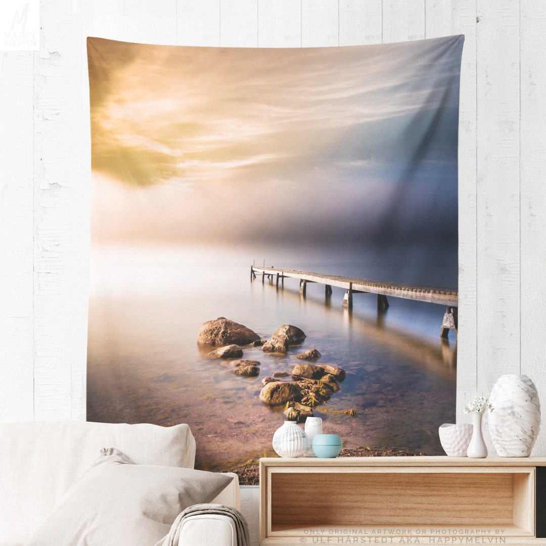 Tall Nature Tapestry Colorful Wall Tapestry Wanderlust Wall Decor Making A Unique Dorm And Bedroom Tapestry Statement