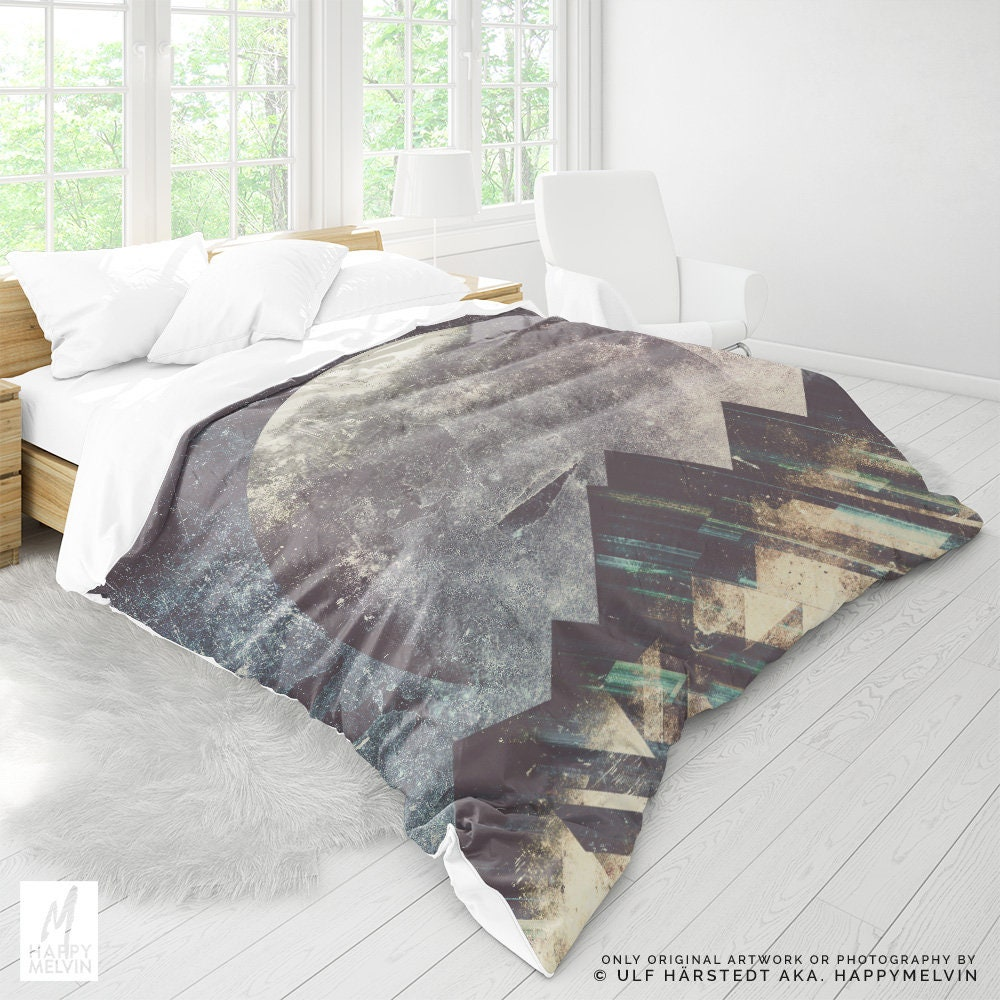 Mountain Art Duvet Cover Abstract Bed Linen And Bedding Bohemian