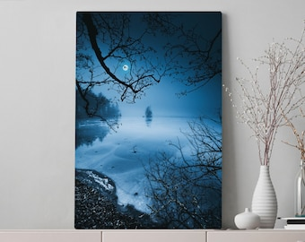 Magical Nature Canvas Art, canvas wall art and wall decor, ready to hang gallery wrap canvas, unique home decor making a statement