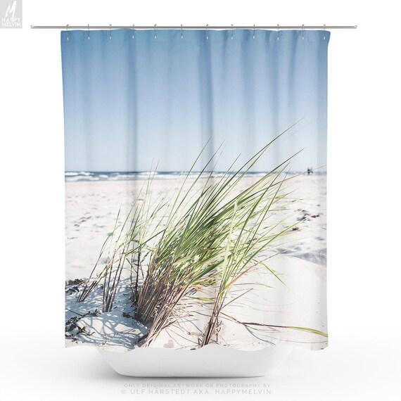 Beach Shower Curtain Nature Bathroom Boho