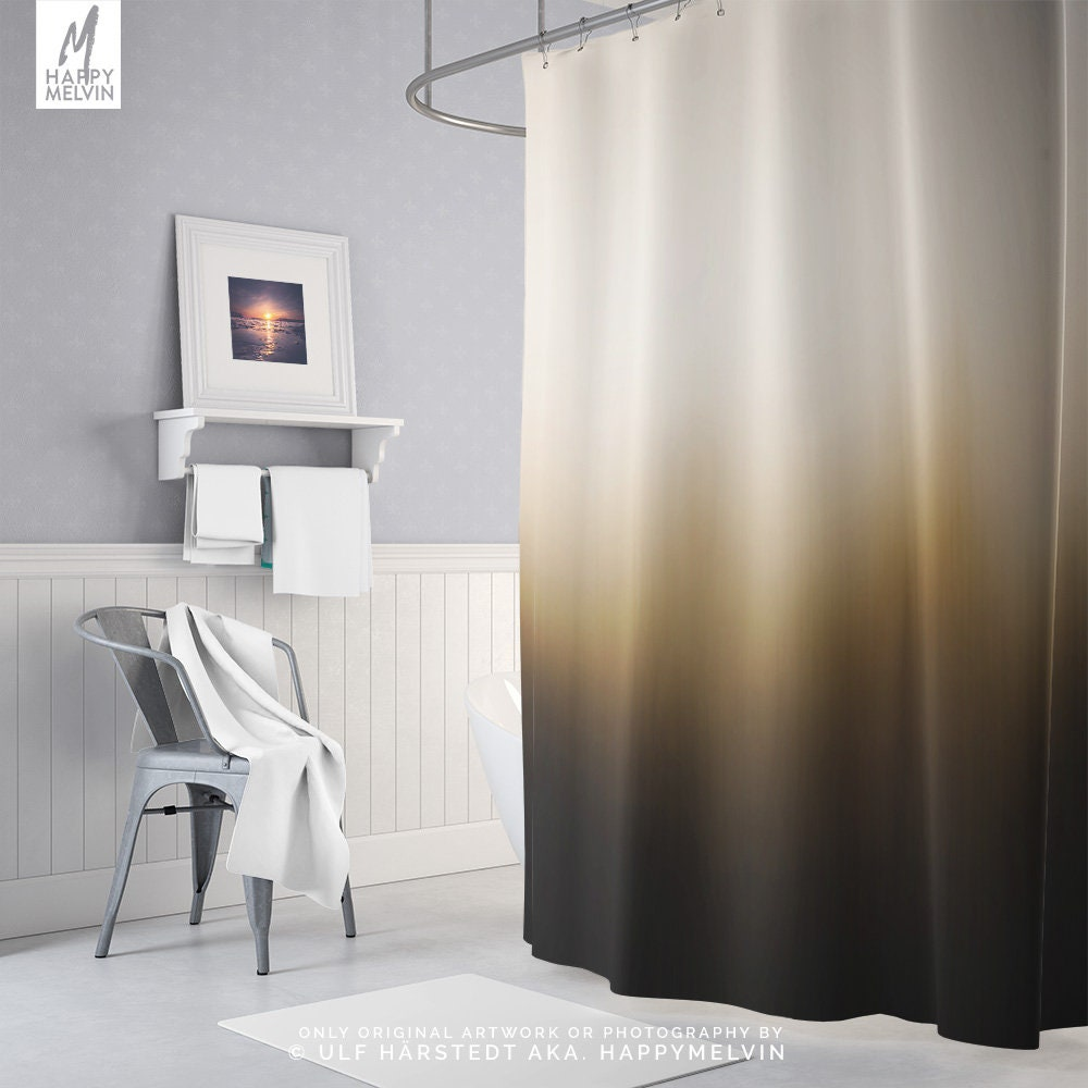 Abstract Art Shower Curtain Artsy Bathroom Boho Decor Dorm And Unique Home Making A Statement