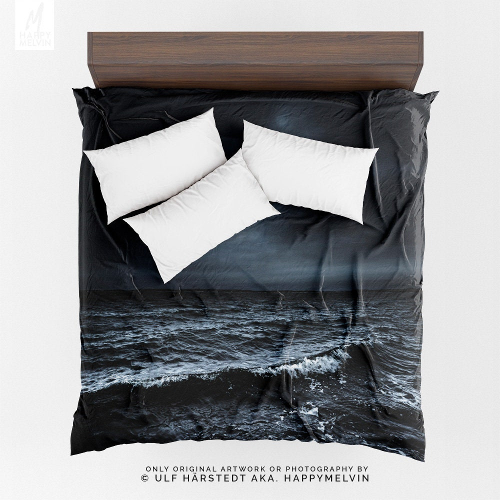 and for moon full blue queen set duvet print soft product bedding cheap cool spread comforter clearance sets twin ocean king bed bedlinen cover