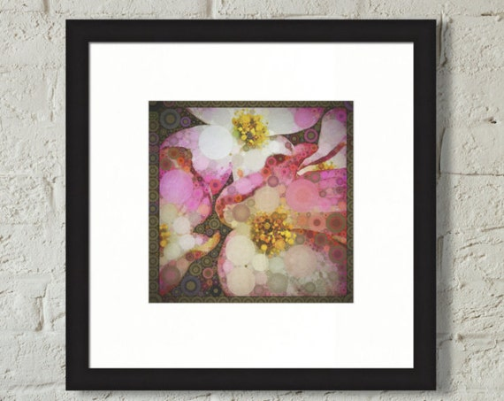 Framed Print ~ Dogwood ~ wall art flowers nature matted fine wall art photo print. Museum quality giclée archival materials Artsfish Studio