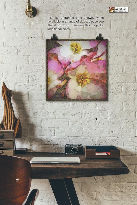 Unframed Print ~ Dogwood ~ giclée ~ nature flowers unframed fine wall art ~ Hahnemühle artist paper museum quality archival  Artsfish Studio