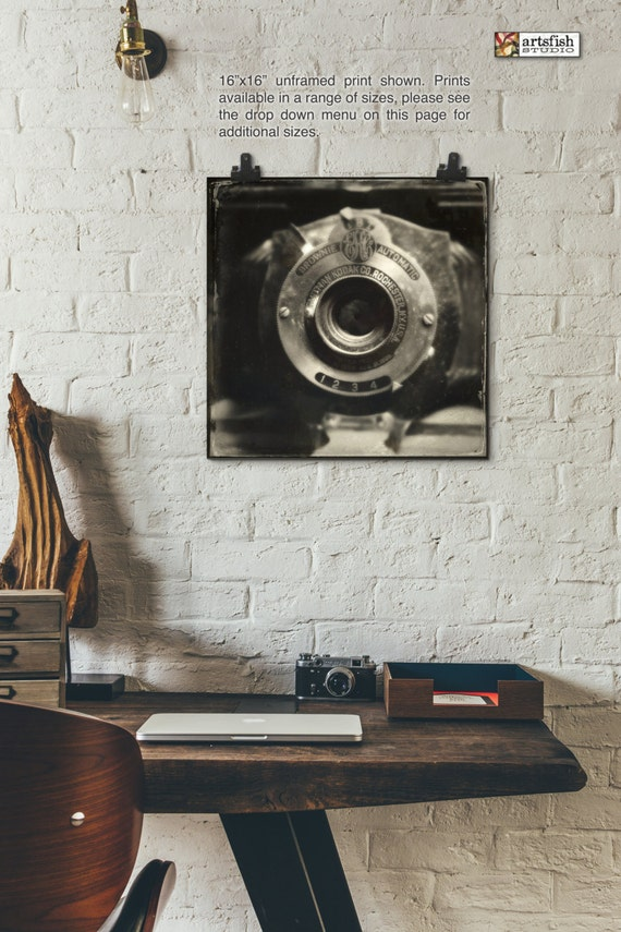 Unframed print ~ Antique Kodak Brownie Camera  ~ giclée wall art  ~  Hahnemühle artist paper museum quality archival  Artsfish Studio