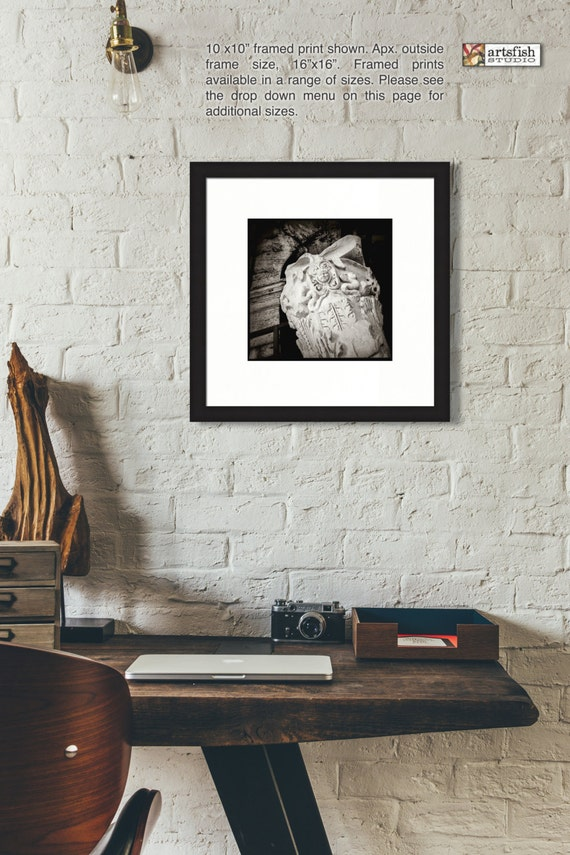 Framed print ~ Roman Capital at the Colosseum ~ giclée matted fine wall art Hahnemühle artist paper quality giclée archival Artsfish Studio