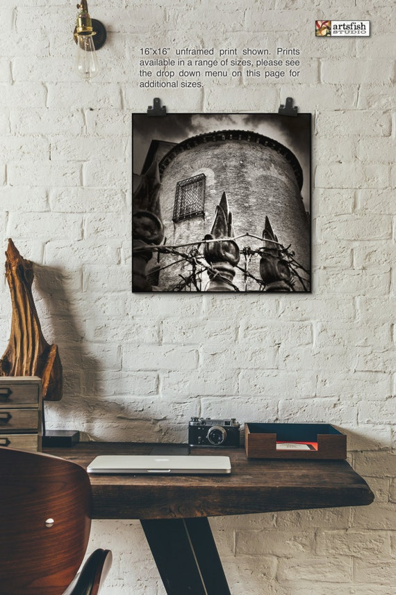 Unframed print ~ Rome Tower ~ unframed wall art print ~ Hahnemühle artist paper museum quality archival giclée Artsfish Studio