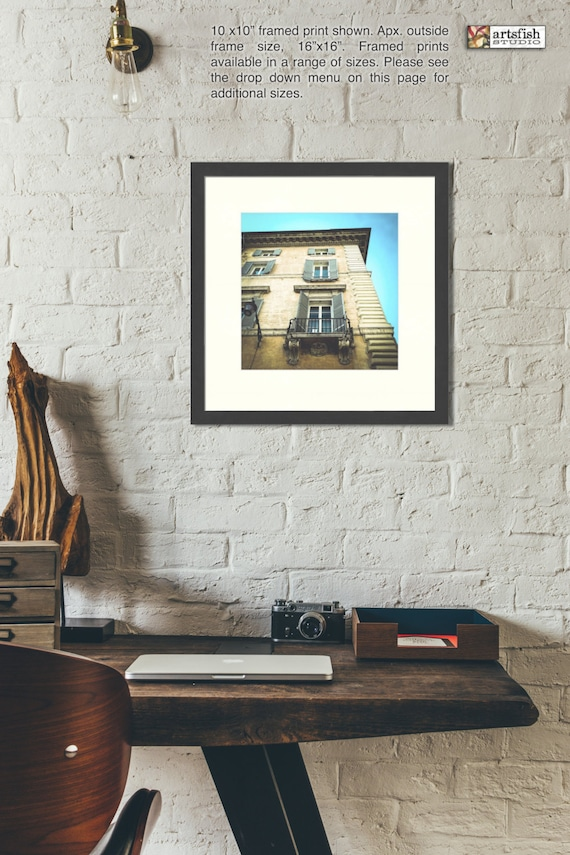 Framed print ~ Rome Italy architecture ~ giclée matted fine wall art Hahnemühle artist paper museum quality giclée archival Artsfish Studio
