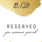 RESERVED for Weathers (Mother of the Bride umbrella)