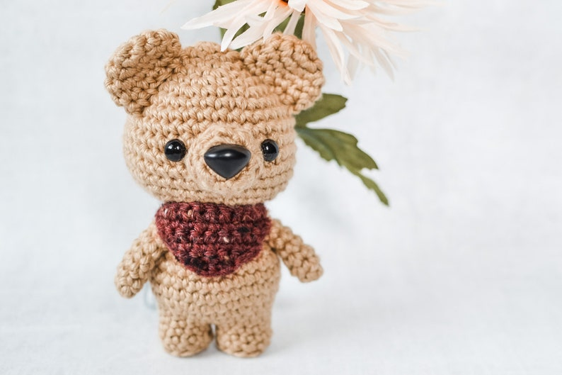 Teddy Bear CROCHET PATTERN. Briggs The Bear. Bear Crochet image 0