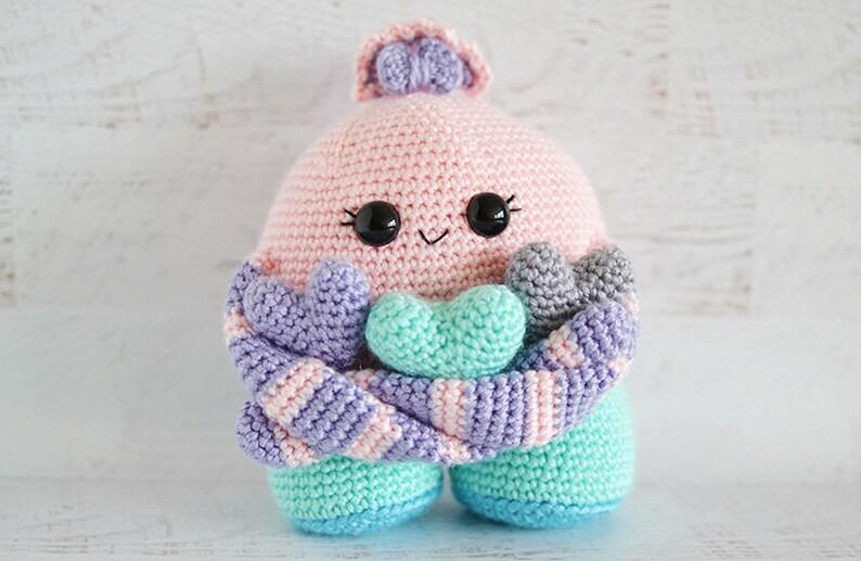 Curtain Bra Monster Crochet Pattern PDF ternura amigurumi ENGLISH ... | 517x794