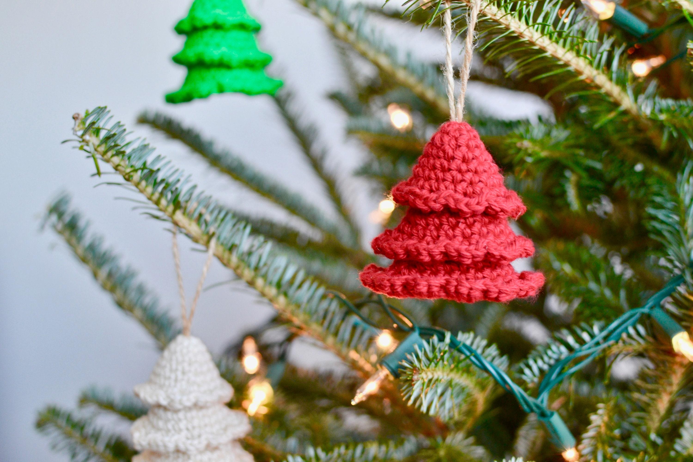 Christmas Tree CROCHET PATTERN. Crochet Christmas Tree Ornament Pattern. Amigurumi Christmas Tree. PDF Crochet Pattern. Christmas Decor