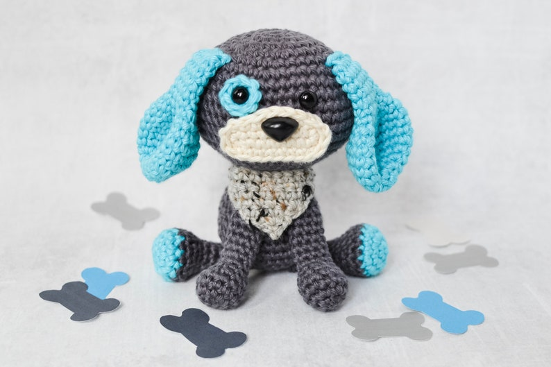 Dog CROCHET PATTERN. Dash The Dog. Crochet Dog Pattern. image 0