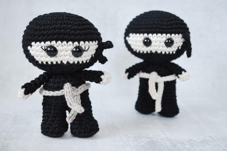 Ninja CROCHET PATTERN. Nikita The Ninja. Ninja Crochet image 0