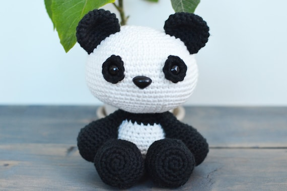 Panda Crochet Pattern Panda Crochet Pattern Panda Amigurumi Etsy