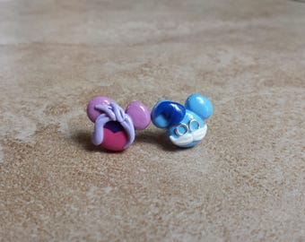 Merlin and Madam Mim Mickey Inspired Earrings