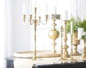 Wedding Centerpiece Tall Centerpiece Candlestick Candelabra Wedding Event Decor Tables