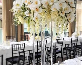 Tall Wedding Centerpieces Etsy