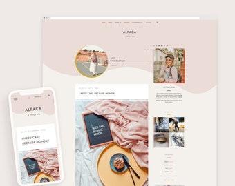 Alpaca • Responsive Blogger Template, Blogger Template, Responsive Blogger Theme, Blogger Theme + Free Installation