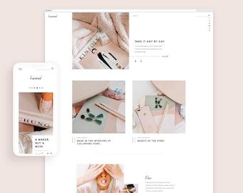 Himmel • Responsive Blogger Template, Blogger Template, Responsive Blogger Theme, Blogger Theme, Minimalist + Free Installation