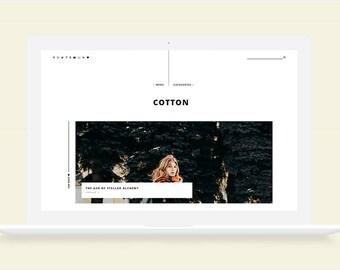 Cotton • Responsive Blogger Template, Blogger Template, Responsive Blogger Theme, Blogger Theme,  Minimalist Blogger Template