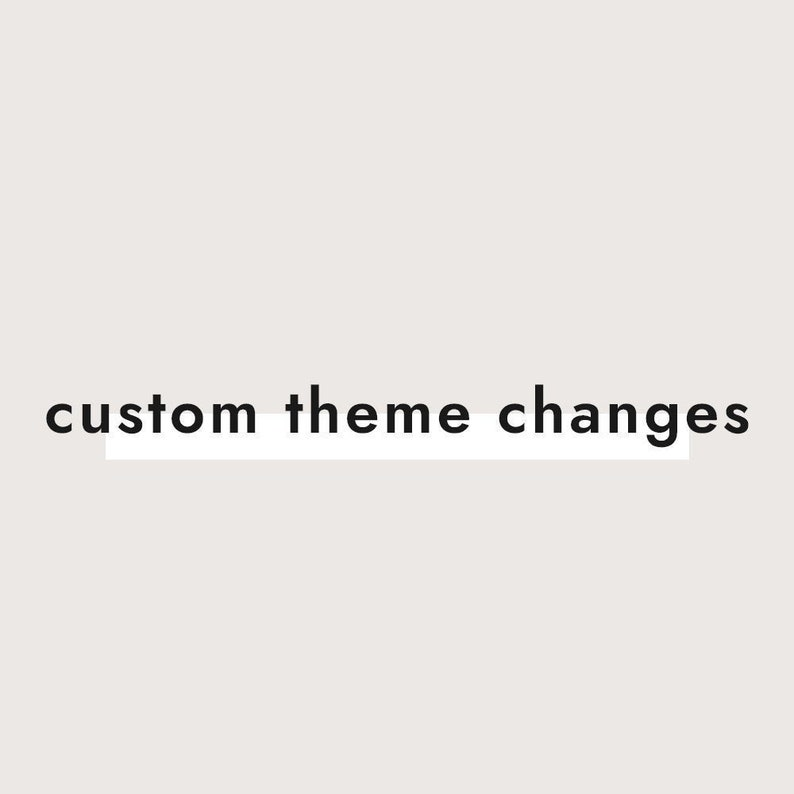 Custom Theme Changes & Additions image 0