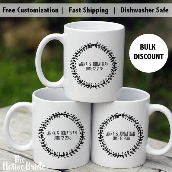 Coffee Mug Wedding Favors Alternative Wedding Favors High Etsy