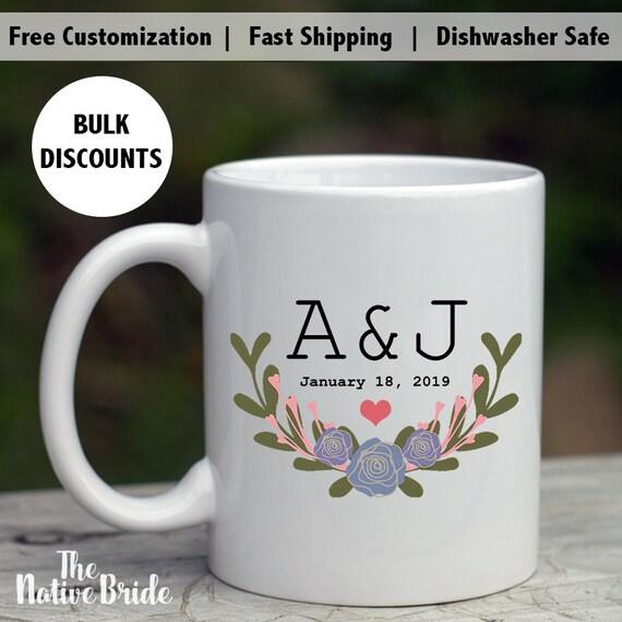 Coffee Mug Wedding Favors Alternative wedding favors custom | Etsy