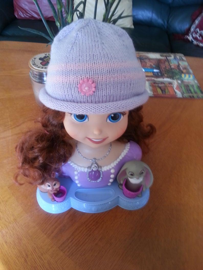 ea9ebae5ddd20 Toddler hats for girls/Knit Girl Hat/Girls Knit Hat/Kids Knit Hat/Purple  Knit Hat/Hand Knit Hat/Children Hat