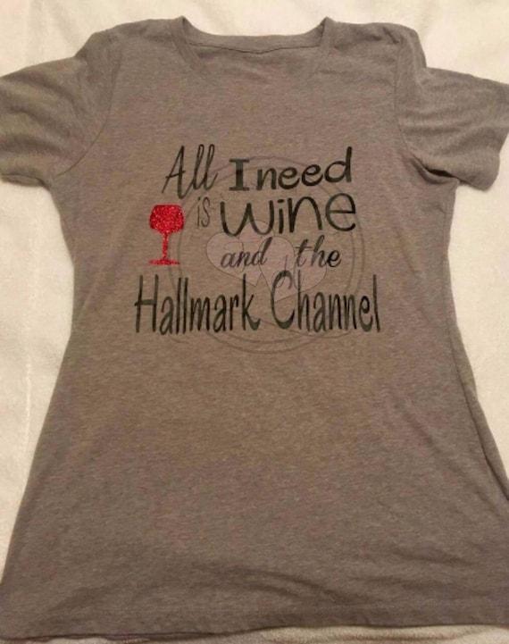 Hallmark Christmas T Shirt.Christmas T Shirt Holidayt Shirt Funny Wine Shirt Christmas Shirt Holiday Shirt Drinking Shirt
