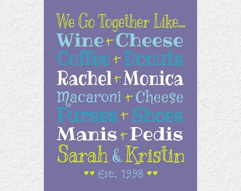 We Go Together Like Mac And Cheese Best Friend Birthday Gift