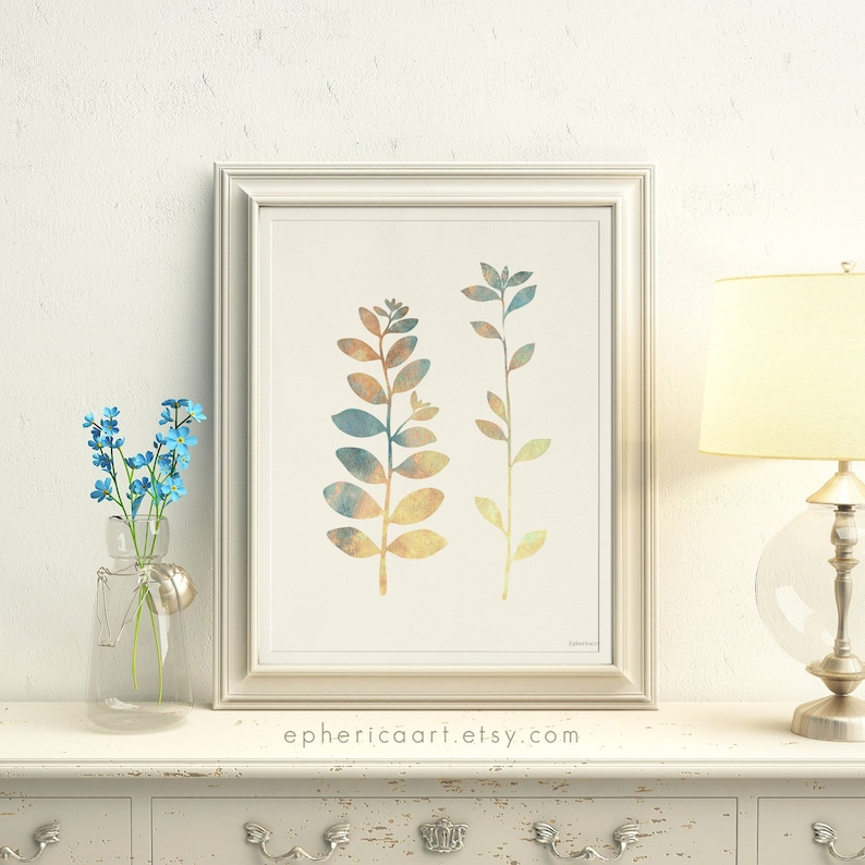 Bedroom art print Nature Home Decor art Instant Download image 0