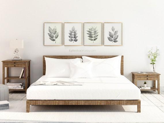 Master Bedroom Prints Wall Art Bedroom Wall Decor Print Set Etsy
