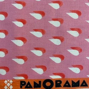 Panorama Scallops Flame by Cotton and Steel for RJR